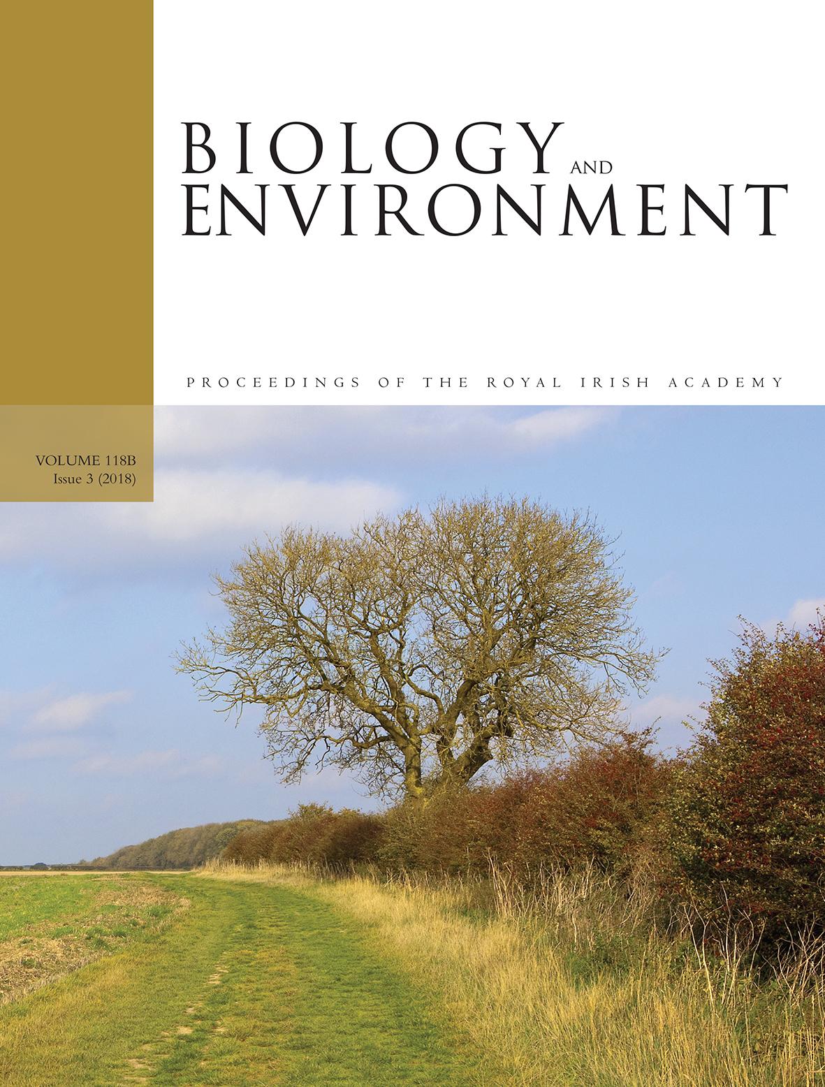 Biology and Environment   Royal Irish Academy