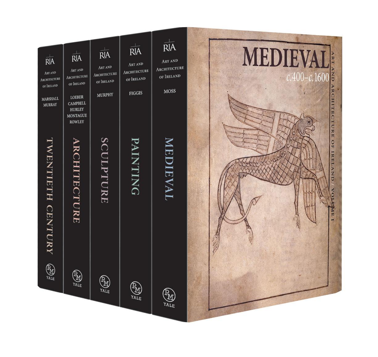 art and architecture of ireland five volume set royal irish academy