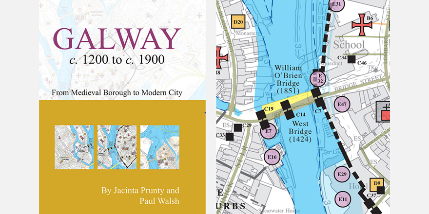 Galway On Map Of Ireland.Galway Pocket Map Published Royal Irish Academy